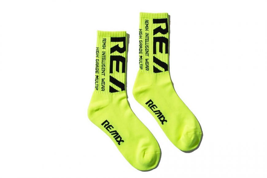 REMIX 1219(三)發售 18 AW Bleed Crew Socks (12)
