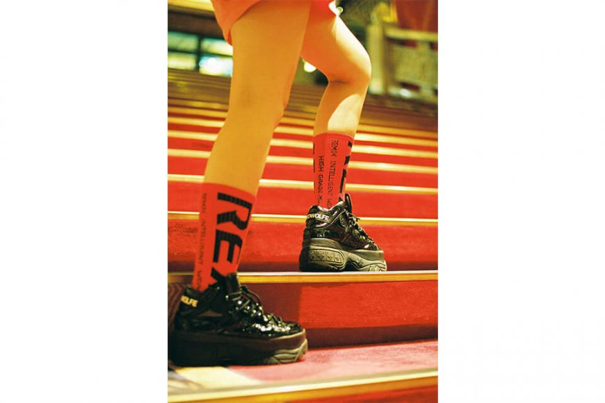 REMIX 1219(三)發售 18 AW Bleed Crew Socks (2)