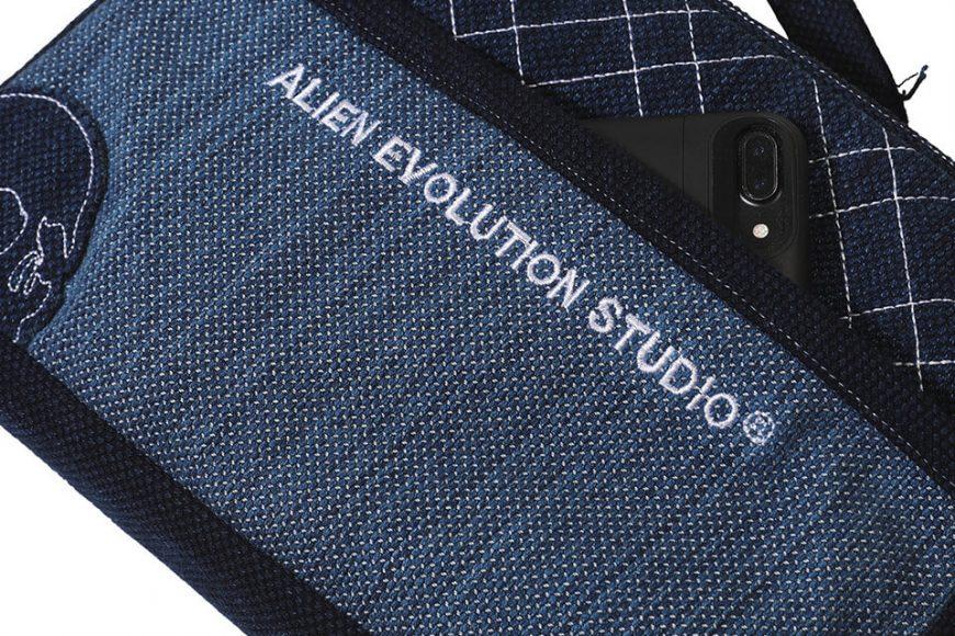AES 112(六)發售 18 AW Aes Japan Indigo Sashiko Soulder Bag (4)