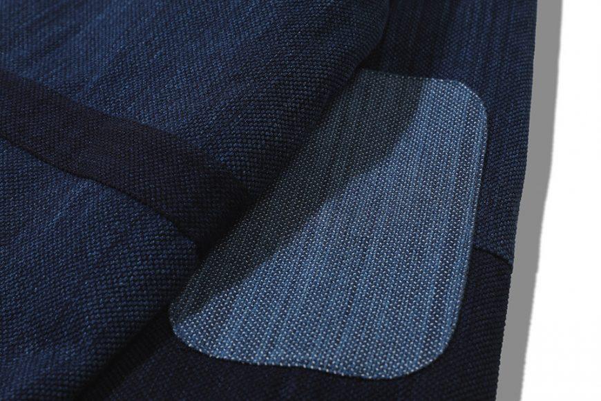 AES 18 AW Aes Japan Indigo Sashiko Coat (5)
