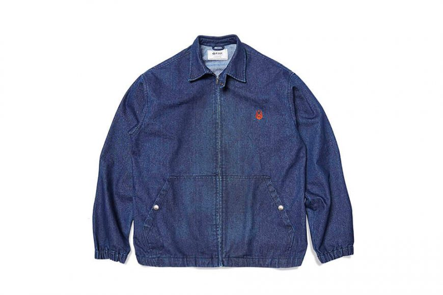 B-SIDE 12(三)發售 18 AW Old Fashion Denim Jacket (5)