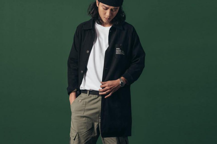 B-SIDE 130(三)發售 18 AW BS Over Coat (0)