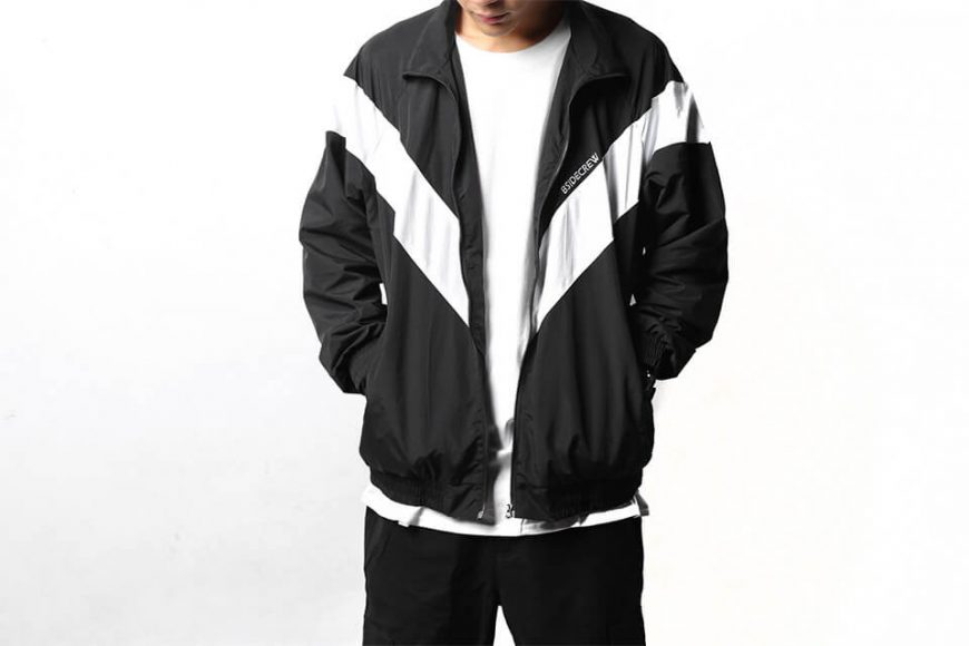B-SIDE 18 AW BS Crew Track JKT (1)