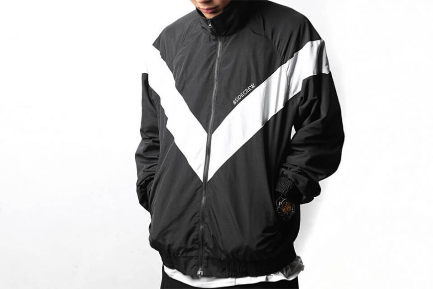 B-SIDE 18 AW BS Crew Track JKT (2)