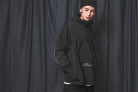 B-SIDE 18 AW BS Pullover Windbreaer (1)