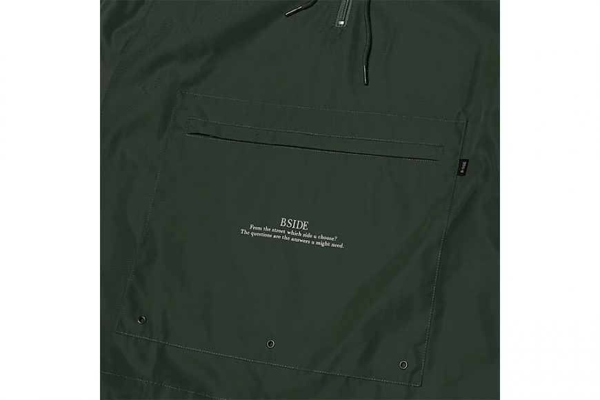 B-SIDE 18 AW BS Pullover Windbreaer (17)