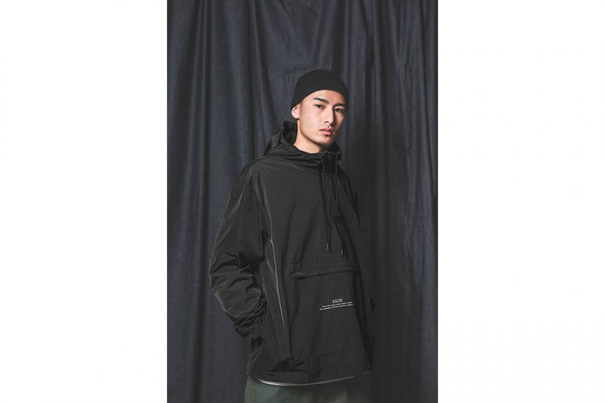 B-SIDE 18 AW BS Pullover Windbreaer (4)
