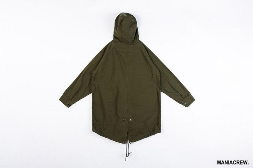 MANIA 126(六)發售 18 AW M-51 Army Parka & M-51 Fleece Jacket (2)
