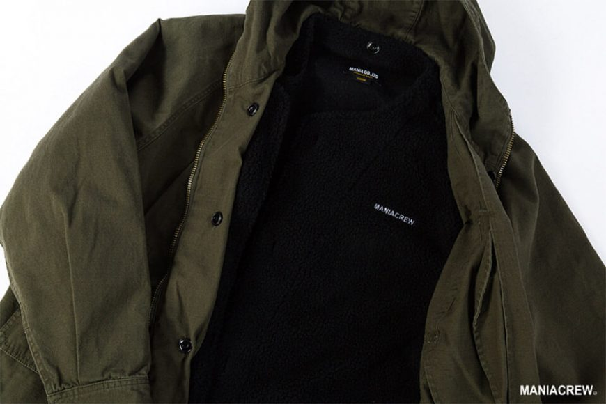 MANIA 126(六)發售 18 AW M-51 Army Parka & M-51 Fleece Jacket (4)