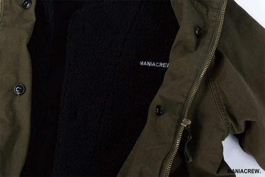 MANIA 126(六)發售 18 AW M-51 Army Parka & M-51 Fleece Jacket (5)