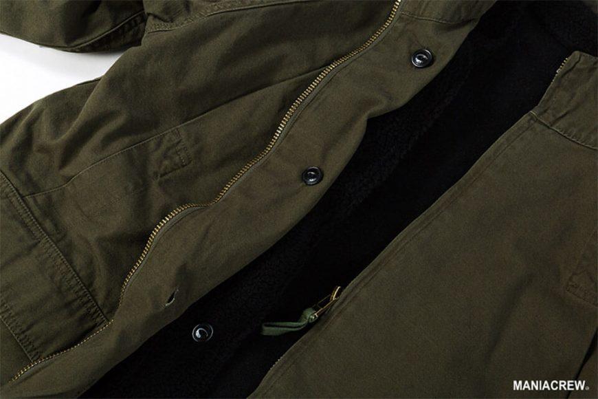 MANIA 126(六)發售 18 AW M-51 Army Parka & M-51 Fleece Jacket (6)