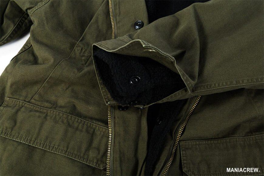 MANIA 126(六)發售 18 AW M-51 Army Parka & M-51 Fleece Jacket (7)
