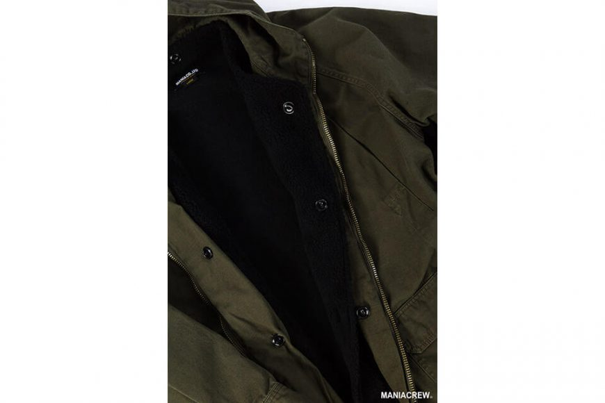 MANIA 126(六)發售 18 AW M-51 Army Parka & M-51 Fleece Jacket (8)