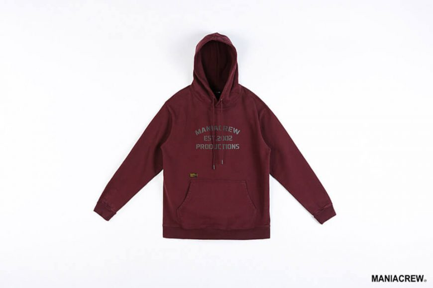 MANIA 18 AW Heavyweight Dyed Hoodie (10)