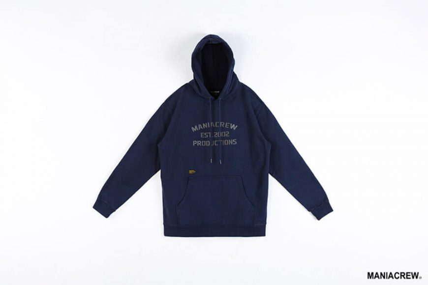 MANIA 18 AW Heavyweight Dyed Hoodie (5)
