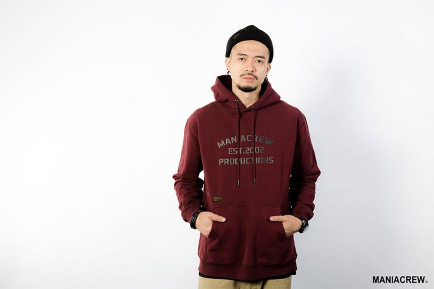MANIA 18 AW Heavyweight Dyed Hoodie (7)