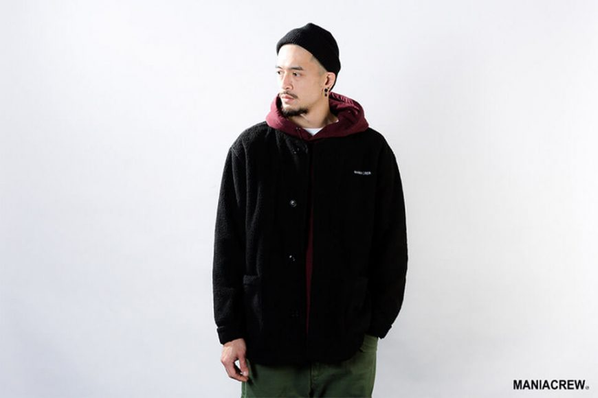 MANIA 18 AW M-51 Fleece Jacket (2)