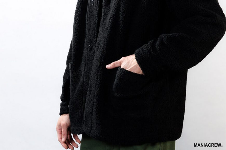 MANIA 18 AW M-51 Fleece Jacket (3)
