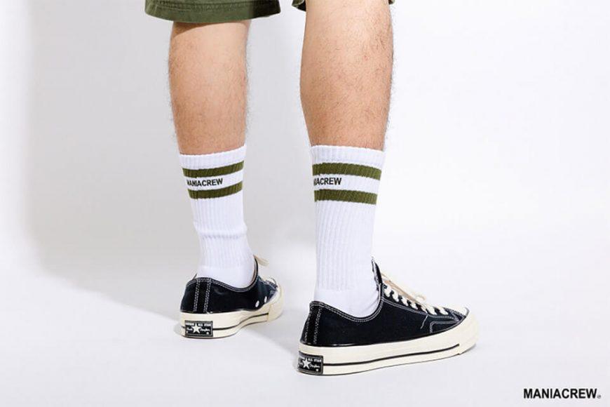 MANIA 18 AW Pinstripe Socks (1)