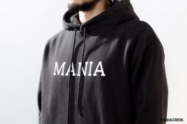 MANIA 18 AW Script Hoodie (4)