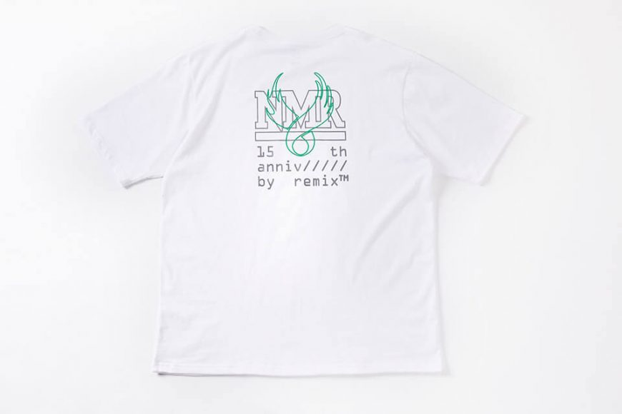 NMR15th x REMIX 15 Anniv Tee (15)