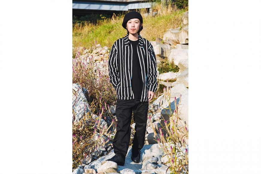 NextMobRiot 130(三)發售 18 AW Stripe Wave Old Jacke (1)