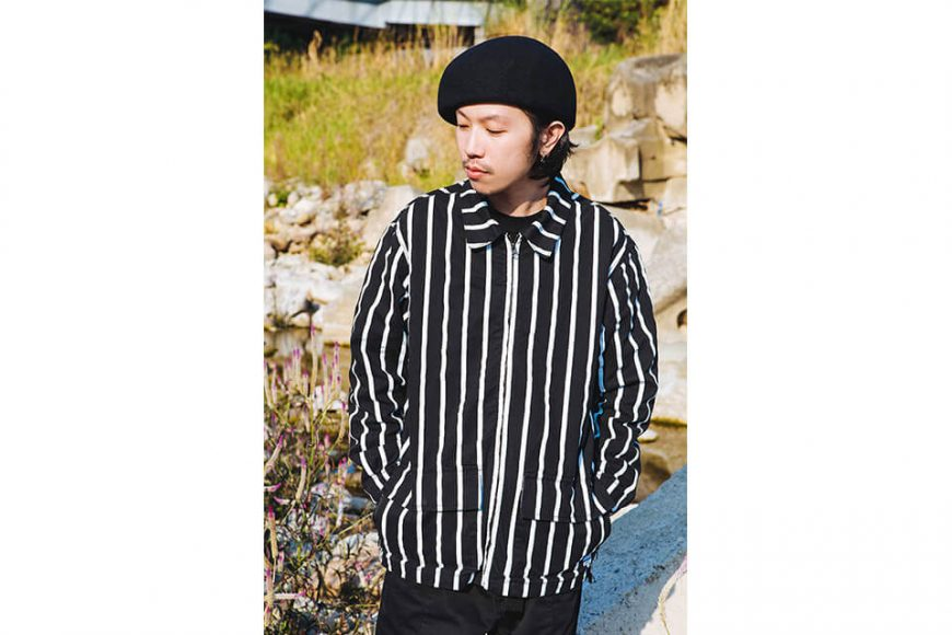 NextMobRiot 130(三)發售 18 AW Stripe Wave Old Jacke (3)