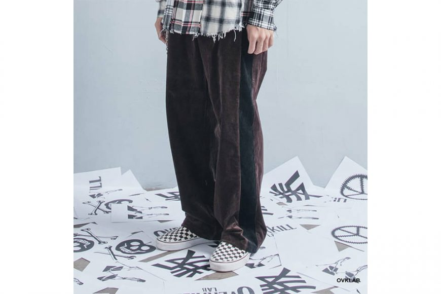 OVKLAB 123(三)發售 18 AW Coduroy Wide Pants (4)