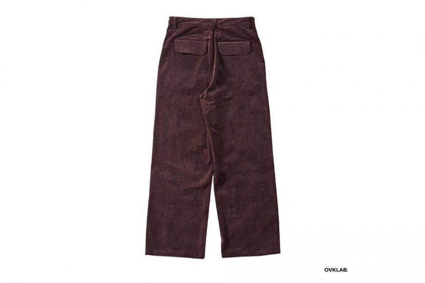 OVKLAB 123(三)發售 18 AW Coduroy Wide Pants (7)