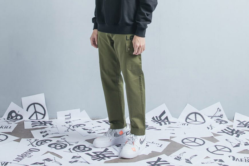 OVKLAB 18 AW Military Pants (1)