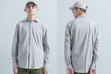 OVKLAB 19(三)發售 18 AW Plaid LS Shirt (00)