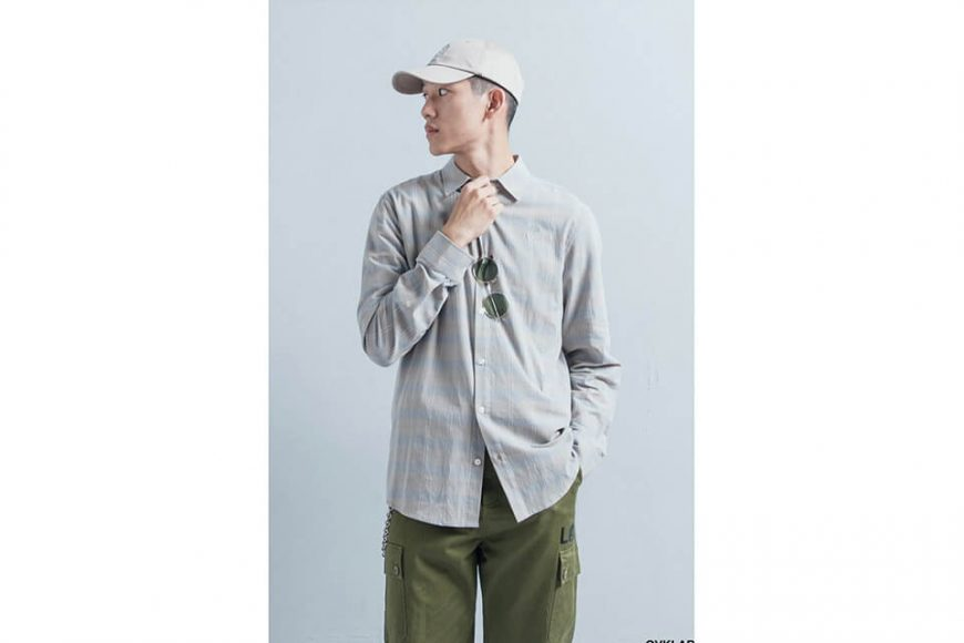 OVKLAB 19(三)發售 18 AW Plaid LS Shirt (01)
