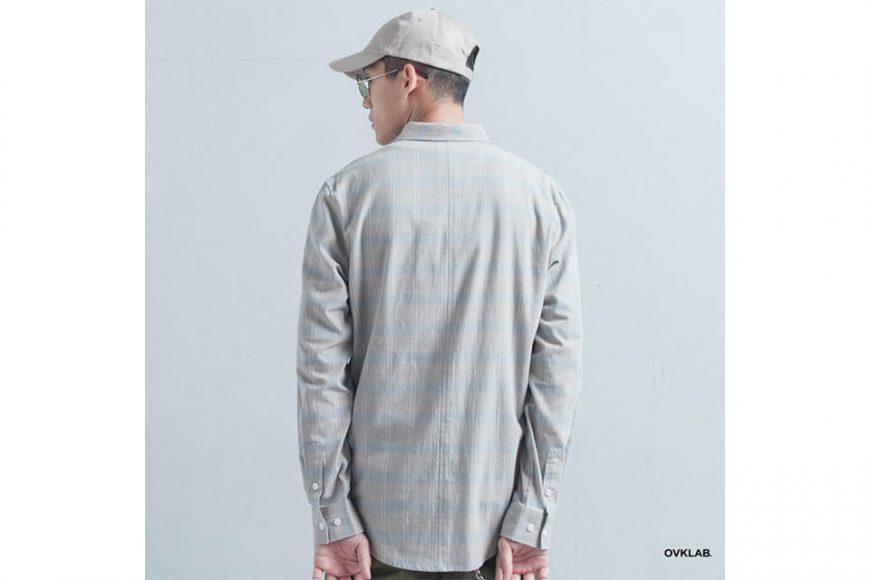 OVKLAB 19(三)發售 18 AW Plaid LS Shirt (4)