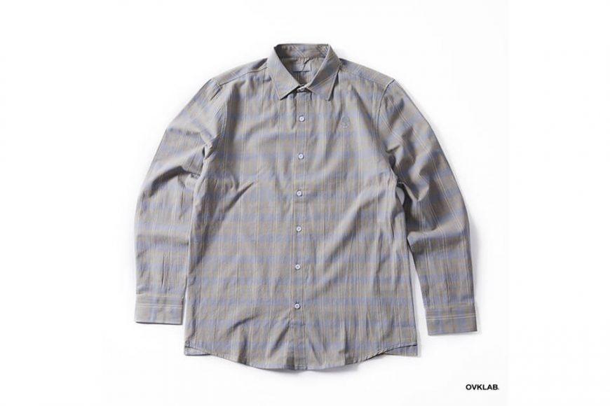 OVKLAB 19(三)發售 18 AW Plaid LS Shirt (5)