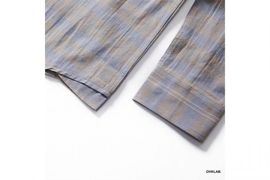OVKLAB 19(三)發售 18 AW Plaid LS Shirt (7)