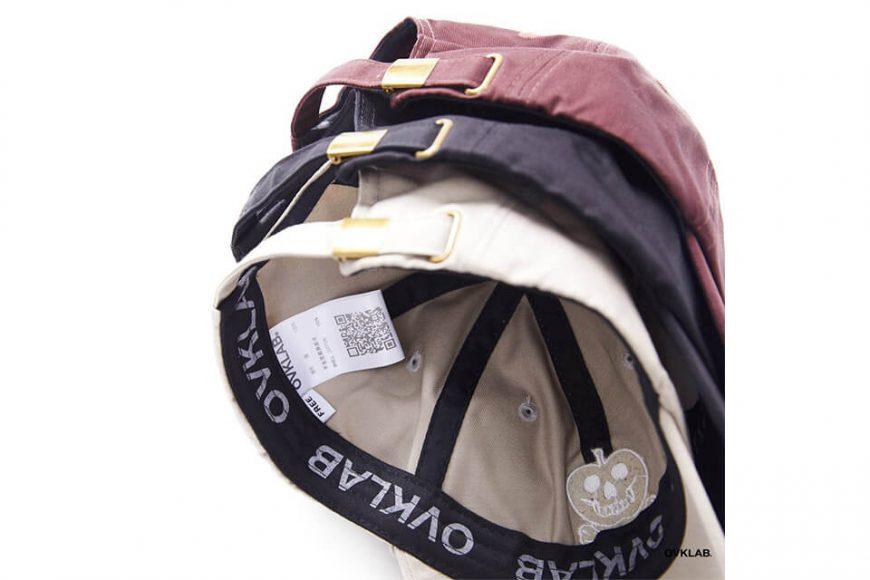 OVKLAB 19(三)發售 18 AW Washed Baseball Cap (14)