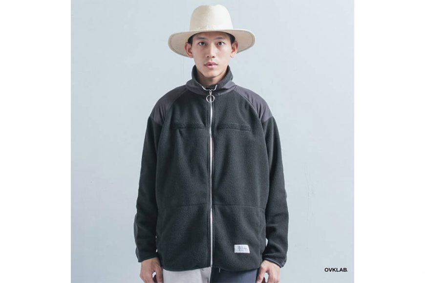 OVKLAB 21(五)發售 18 AW Military Fleece Jacket (2)