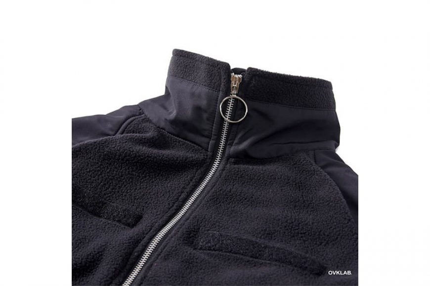 OVKLAB 21(五)發售 18 AW Military Fleece Jacket (8)