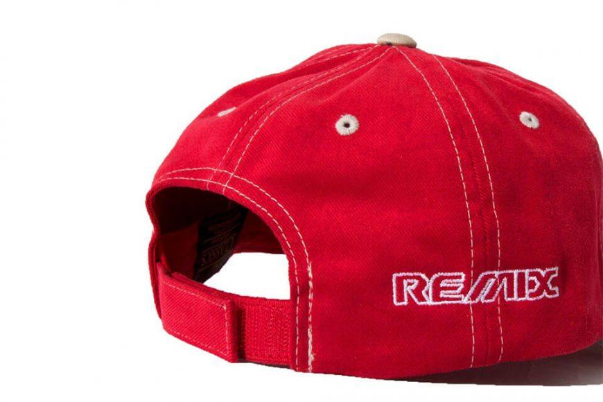 REMIX 18 AW Contrast Stitch Cap (13)