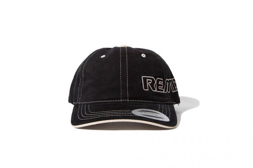 REMIX 18 AW Contrast Stitch Cap (3)