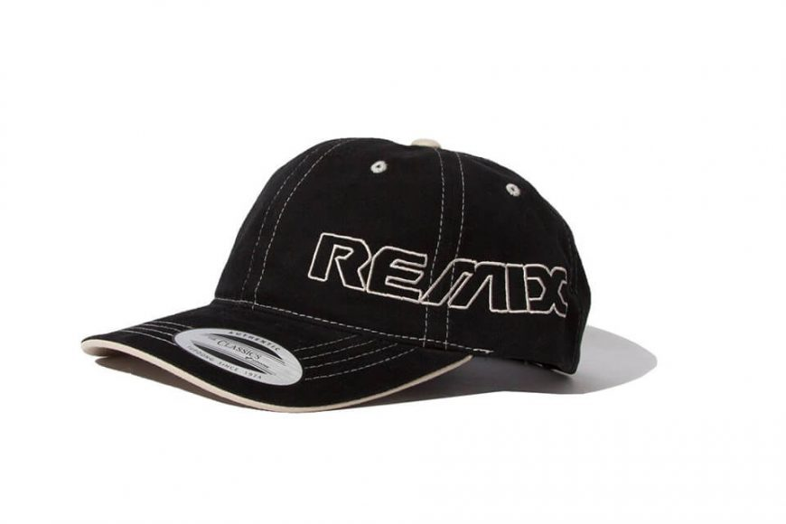 REMIX 18 AW Contrast Stitch Cap (4)