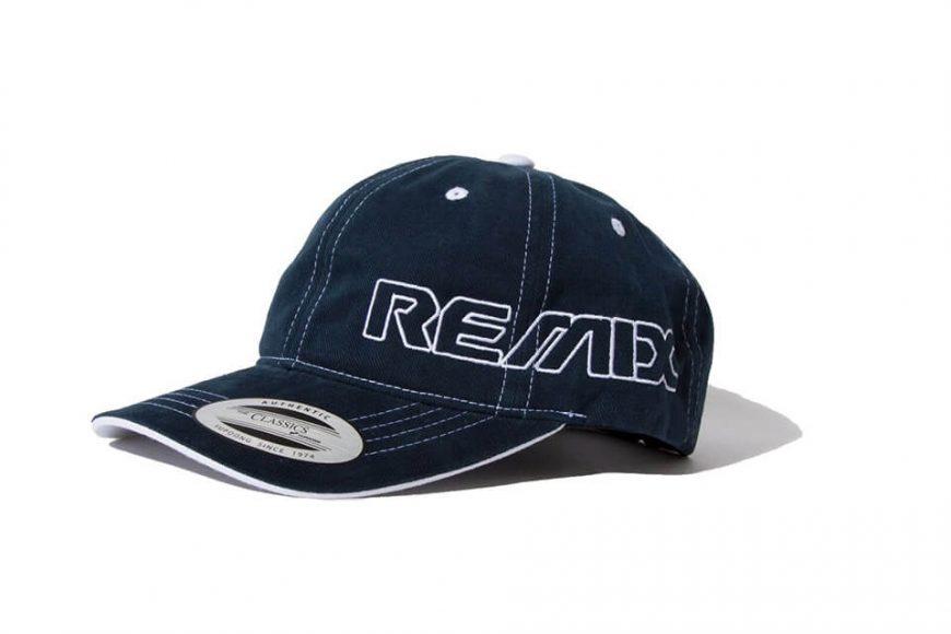 REMIX 18 AW Contrast Stitch Cap (7)