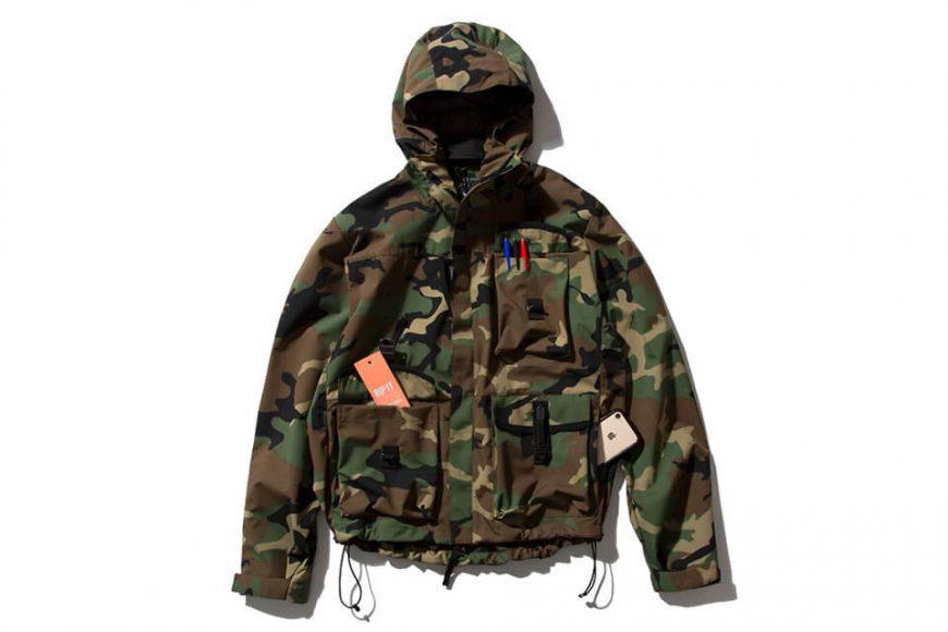 REMIX 19(三)發售 18 AW Rmx Wr Sheel Jacket V2 (18)