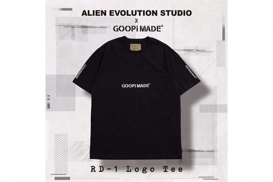AES 27(四)初三發售 18 AW Aes x Goopi Logo Tee (1)