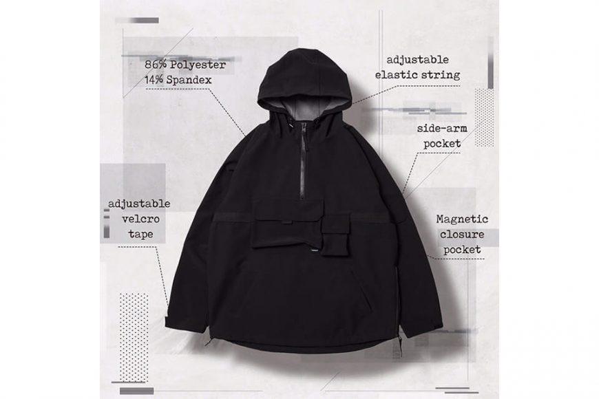 AES 27(四)初三發售 18 AW Aes x Goopi Magnetic Anorak Jacket (3)