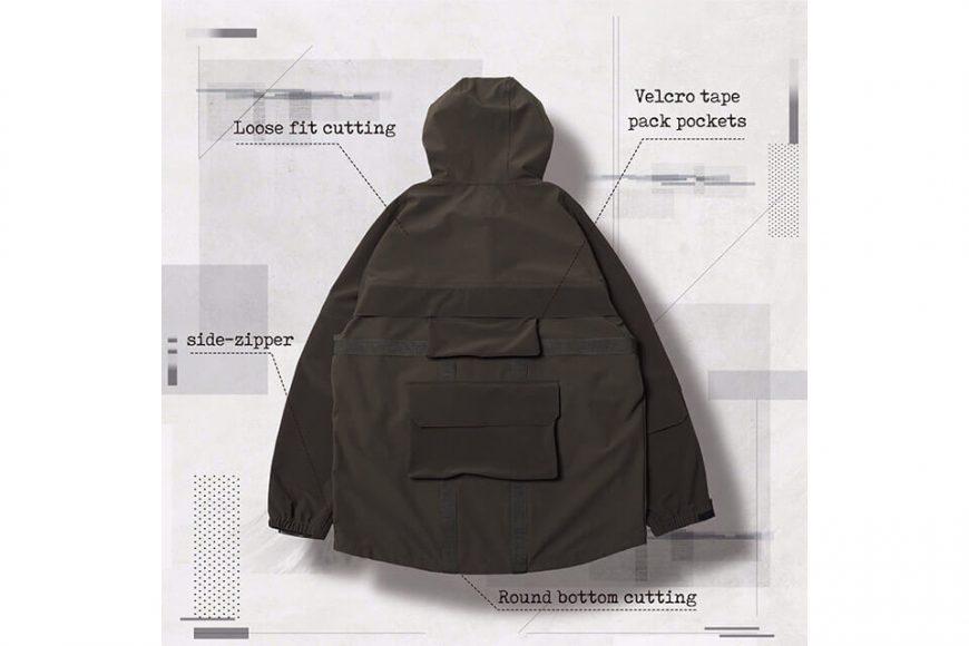 AES 27(四)初三發售 18 AW Aes x Goopi Magnetic Anorak Jacket (6)