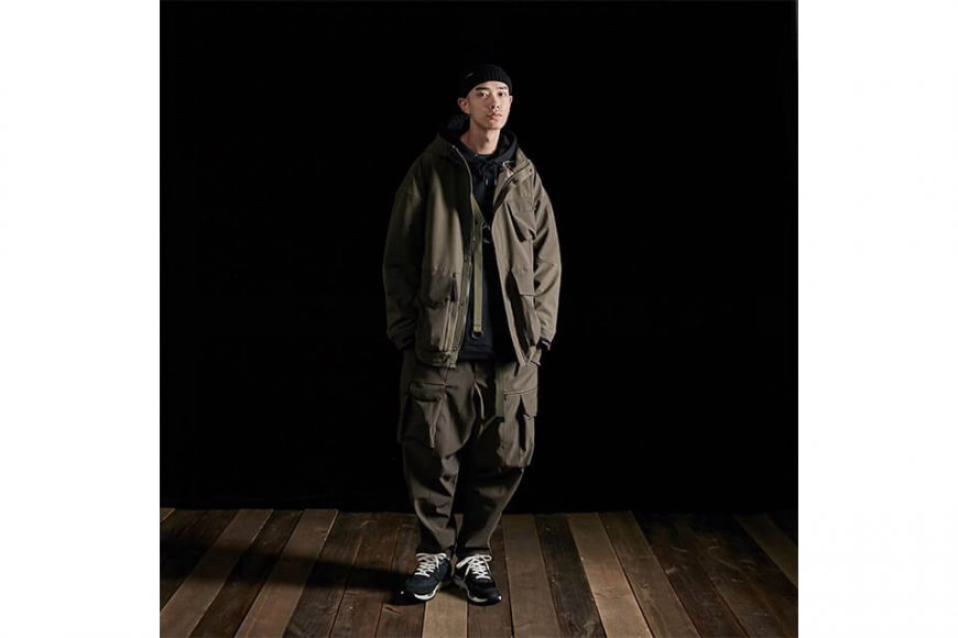 AES 27(四)初三發售 18 AW Aes x Goopi Reconstruct Jacket (1)