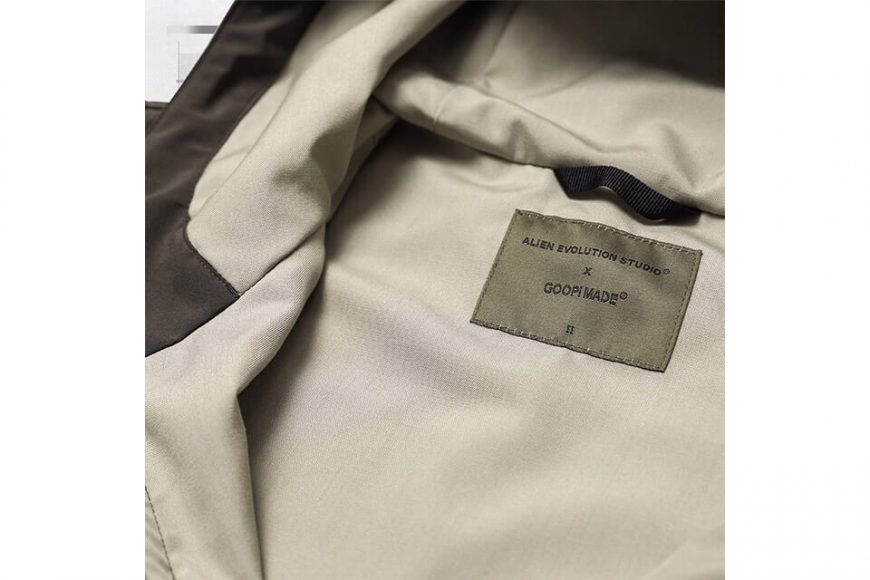 AES 27(四)初三發售 18 AW Aes x Goopi Reconstruct Jacket (11)