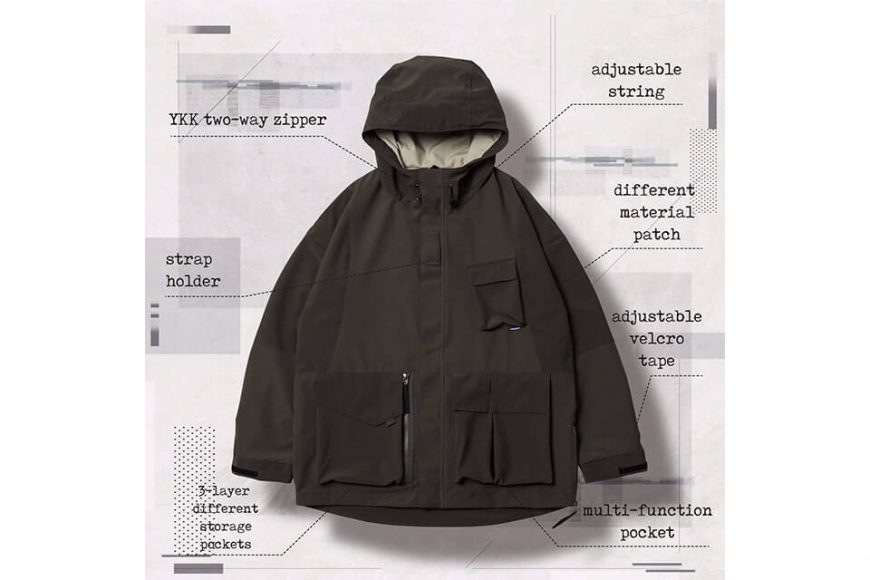AES 27(四)初三發售 18 AW Aes x Goopi Reconstruct Jacket (6)