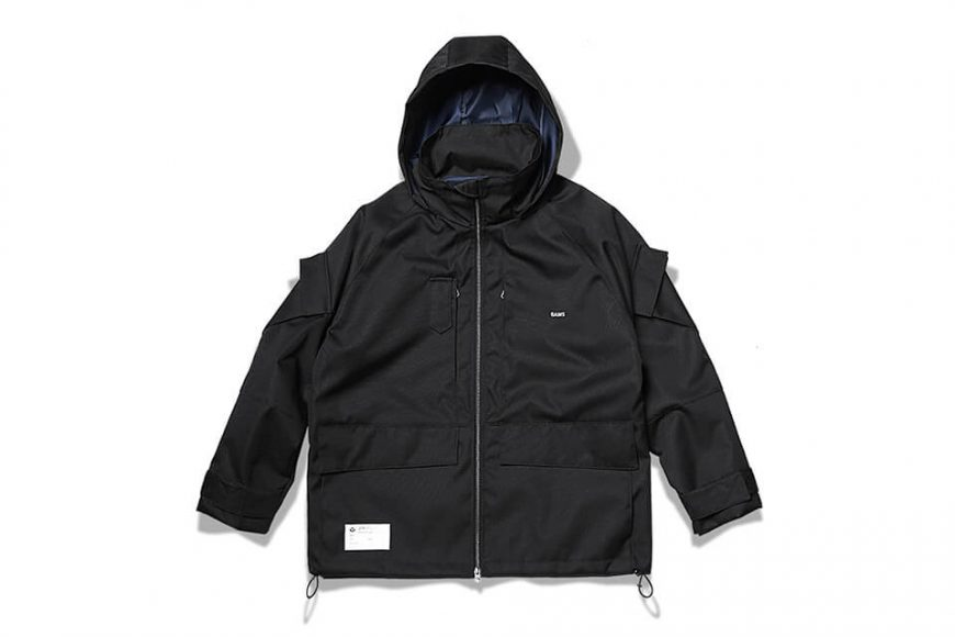B-SIDE 18 AW Air Force Parka (16)